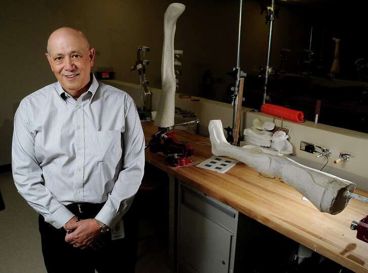 Earl Fogler in his classroom at the Baylor College of Medicine Thursday Feb 27, 2014.(Dave Rossman photo)