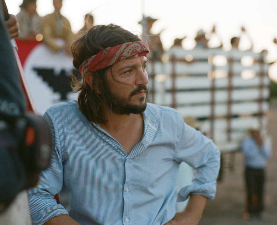 "Director Diego Luna sees César Chávez as ""an American hero."" However, he said, his film doesn't romanticize the labor leader. Photo: Pantelion Films"