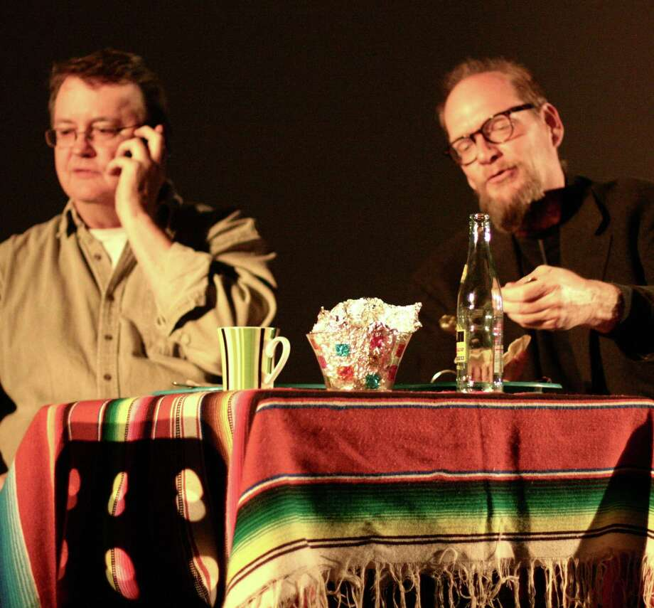 "Chuck Squier (left) and Erik Bosse appear in the funny yet wistful ""Tales of Lost Southtown."" Photo: Courtesy Jump-Start"