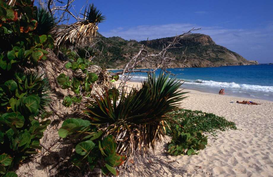 Anse de Grand Saline in Saint Bart's