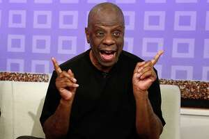 """FILE - This June 26, 2012 file image released by NBC shows Jimmie Walker from the 1970s series """"Good Times,"""" on the """"Today"""" show in New York. The 66-year-old Walker continues to tour the country with his standup act. He appears in Season 4 of the """"Pioneers of Television"""" series that debuts April 15, 2014, on PBS. (AP Photo/NBC, Peter Kramer)"""