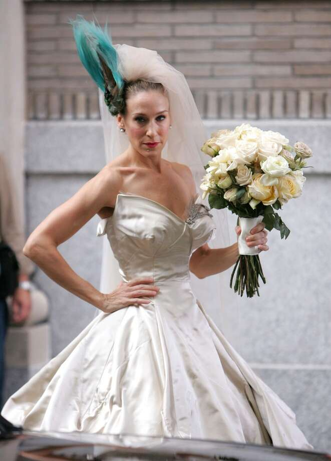 'Sex and the City: The Movie,' 2007. In this movie, we follow Carrie Bradshaw after Mr. Big leaves her at the altar. Wait, on second thought... you should probably skip this one. Next! Photo: James Devaney, WireImage
