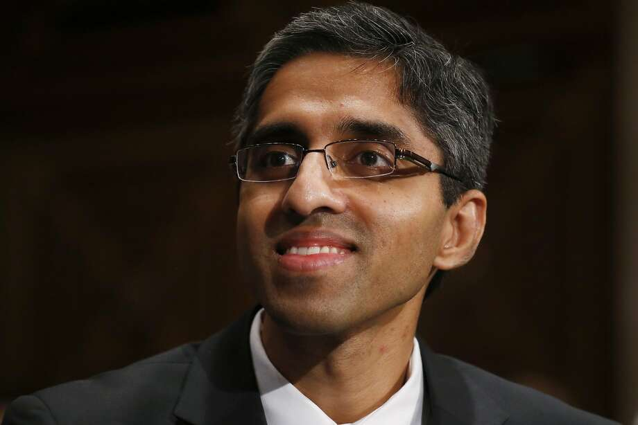 Dr. Vivek Murthy is a vocal supporter of gun control. Photo: Charles Dharapak, Associated Press