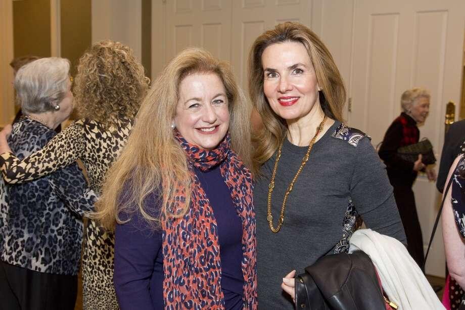 Yvonne Ziegler and Celina Hellmund Photo: F. Carter Smith
