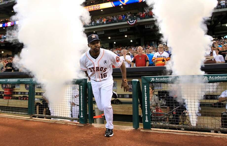 Check out the free swag and other promos the Astros will be rewarding fans with this season. Photo: Karen Warren, Houston Chronicle