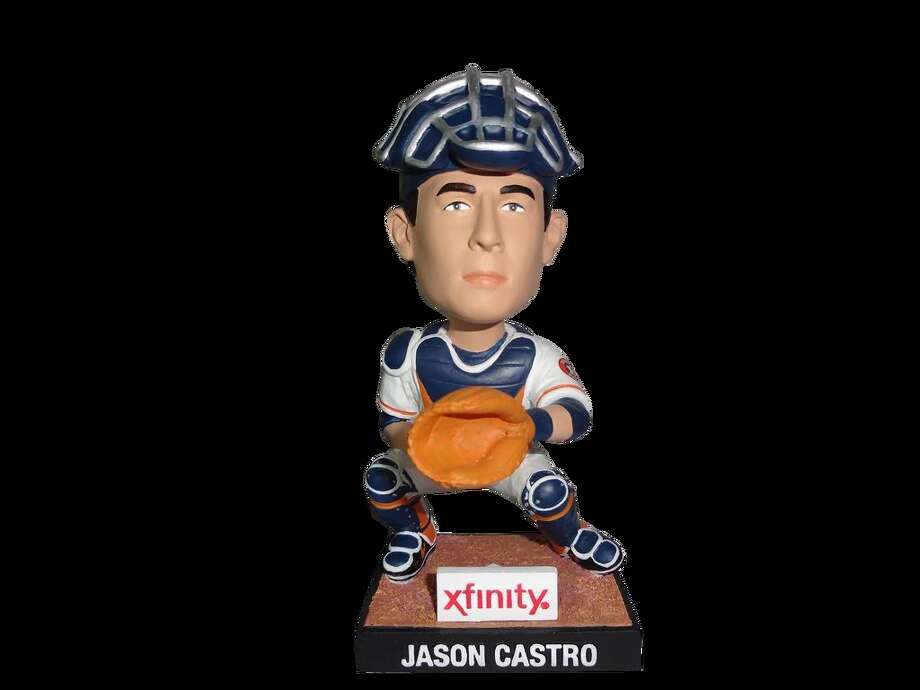 Jason Castro All-Star Bobblehead Giveaway  First 10,000 fans, presented by Xfinity Date: Saturday, April 26 Opponent: Oakland Athletics