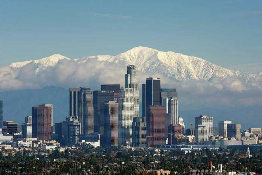 10. Los Angeles, up 2.61 percent. Same rank as in 2012. Photo: David McNew, Getty Images / 2008 Getty Images