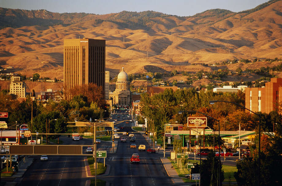7. Idaho, up 2.6 percent and six spots from 2012. Photo: Randy Wells, Getty Images / (c) Randy Wells