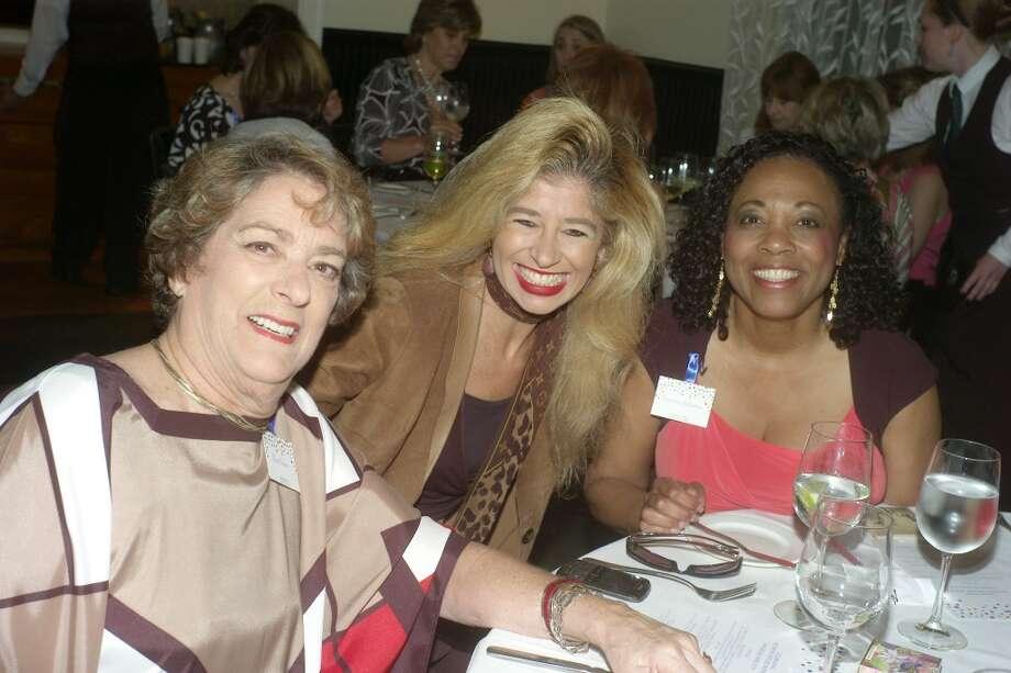 Ellen Cohen, Sofia Adrogue and Vanessa Gillmore Photo: Phyllis Hand