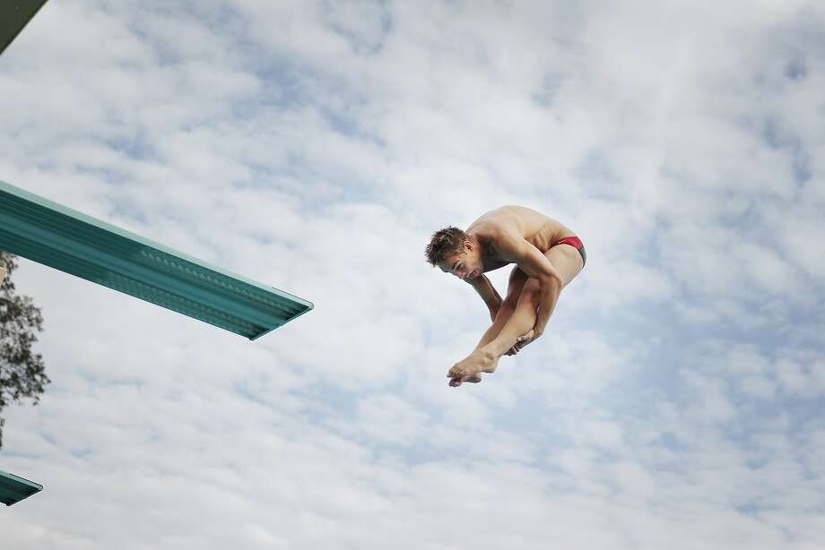 Kristian Ipsen won a bronze medal in the synchronized 3-meter event at the London Olympics. Photo: Lea Suzuki, The Chronicle