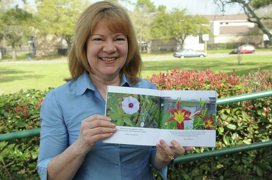 """Cy-Fair author Susan Burnell is donating 20 percent of the proceeds of her book, """"Be Inspired Today"""" to Cy-Hope, a nonprofit that supports Cy-Fair students and teachers. Photo: Â Tony Bullard 2014, Freelance Photographer / © Tony Bullard & the Houston Chronicle"""