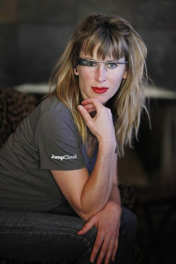 Sarah Slocum posted a video on YouTube of the Google Glass incident at a bar in S.F. Photo: Lea Suzuki, The Chronicle