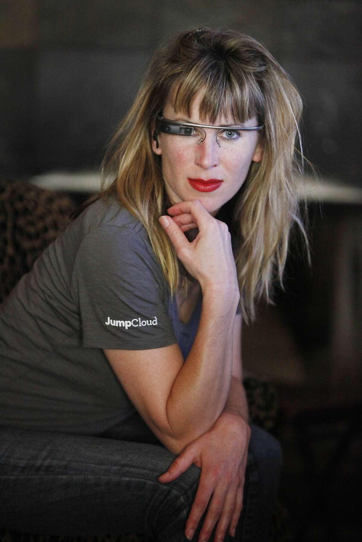Sarah Slocum posted a video on YouTube of the Google Glass incident at a bar in S.F.