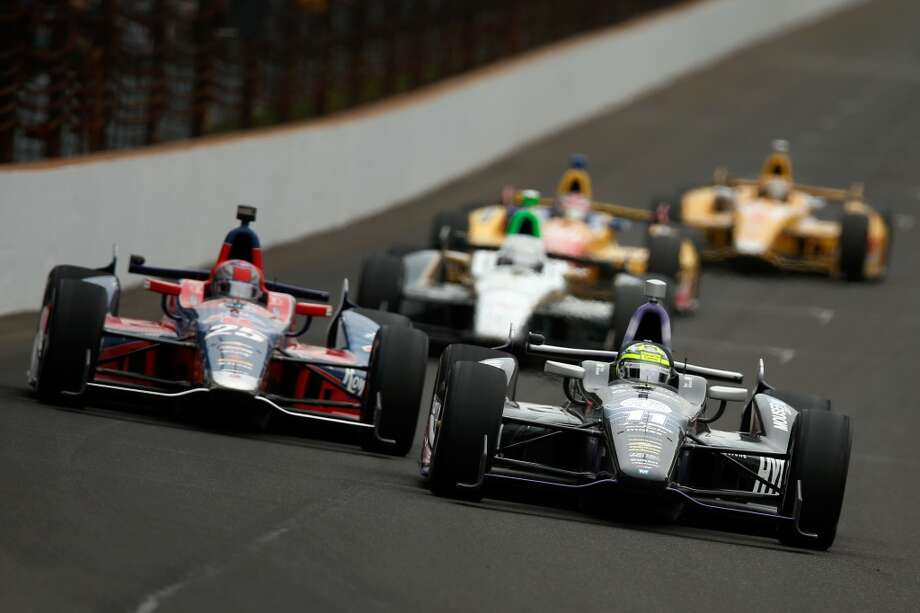 8. Indiana -- $3.678  [Photo: A pack of cars race during the IZOD IndyCar Series 97th running of the Indianapolis 500 mile race at the Indianapolis Motor Speedway in May 2013.] Photo: Chris Graythen, Getty Images