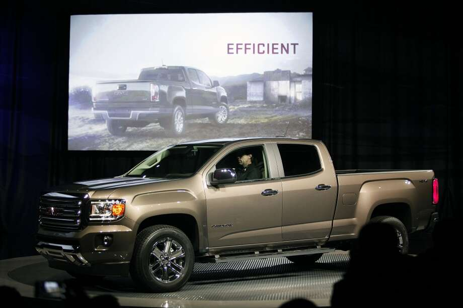 7. Michigan -- $3.714  [Photo: The 2015 GMC Canyon midsize truck makes its world debut on the eve of the Press preview of the 2014 North American International Auto Show January 12, 2014 in Detroit.] Photo: Bill Pugliano, Getty Images
