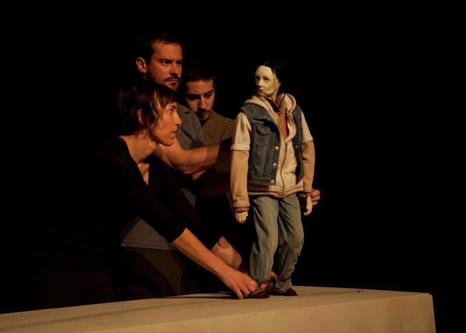"Former Bridgeport resident, puppeteer and playwright Dan Froot presents his experimental theatre piece, ""Who's Hungry?"" at Silvermine Arts Center in New Canaan on Saturday, April 5. Photo: Contributed Photo / Connecticut Post Contributed"