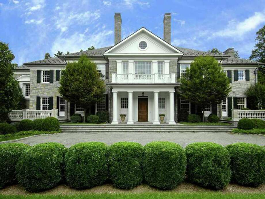 Ken Edwards' choice for ìBuy of the Weekî is a seven-bedroom, 10,669-square-foot Georgian estate on almost three acres of Round Hill Road. Photo: Contributed Photo / Greenwich Time Contributed