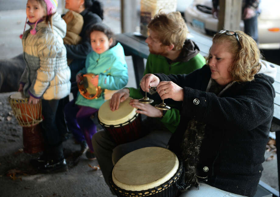 Celebrate the start of the Autumnal Equinox by taking in a drumming circle Friday at Ansonia Nature Center. Find out more. Photo: Christian Abraham / Connecticut Post