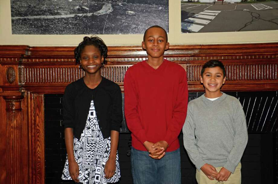 Horizons Student Enrichment Program members Adiah Price-Tucker, Jeffrey Ramirez and Jonathan Jean-Louis received scholarships to attend St. Luke's School and New Canaan Country School next year. Photo: Contributed Photo, Contributed / New Canaan News Contributed