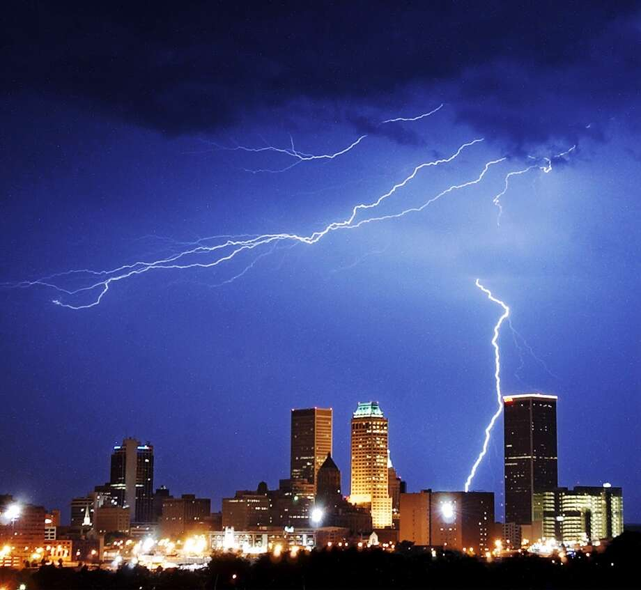 Tulsa, Okla.: -8 percent Photo: STEPHEN HOLMAN, AP