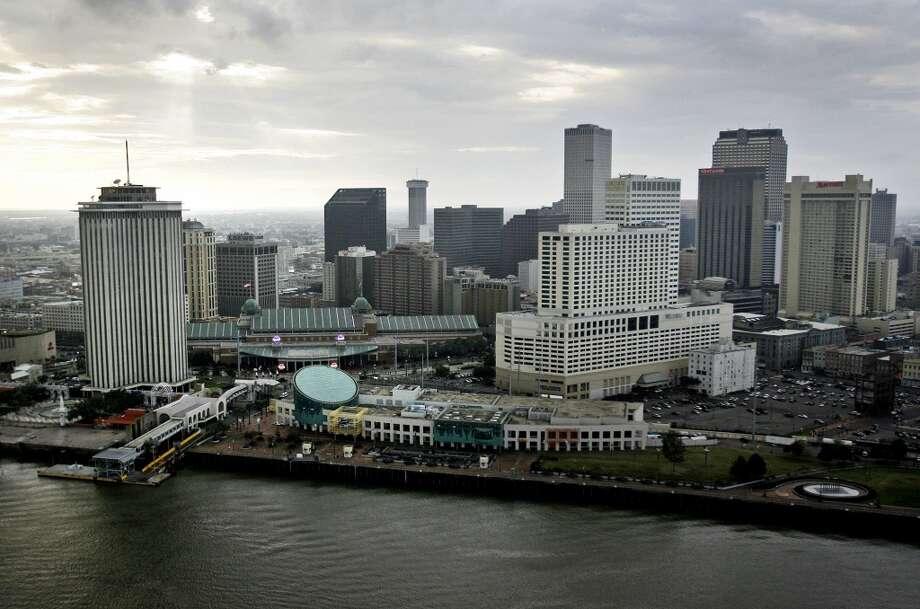 New Orleans, La.: -1 percent Photo: G. ANDREW BOYD