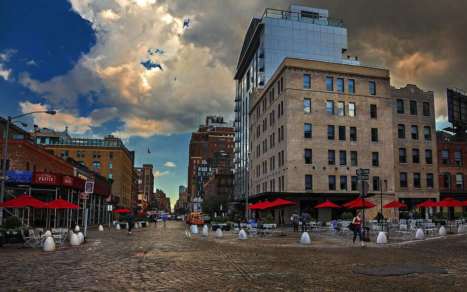 The Meatpacking District, one facet of Chelsea, at Gansevoort Street and Ninth Avenue. Close by, boutiques pack in the fashionistas. Photo: Chris Hardy, Special To The Chronicle
