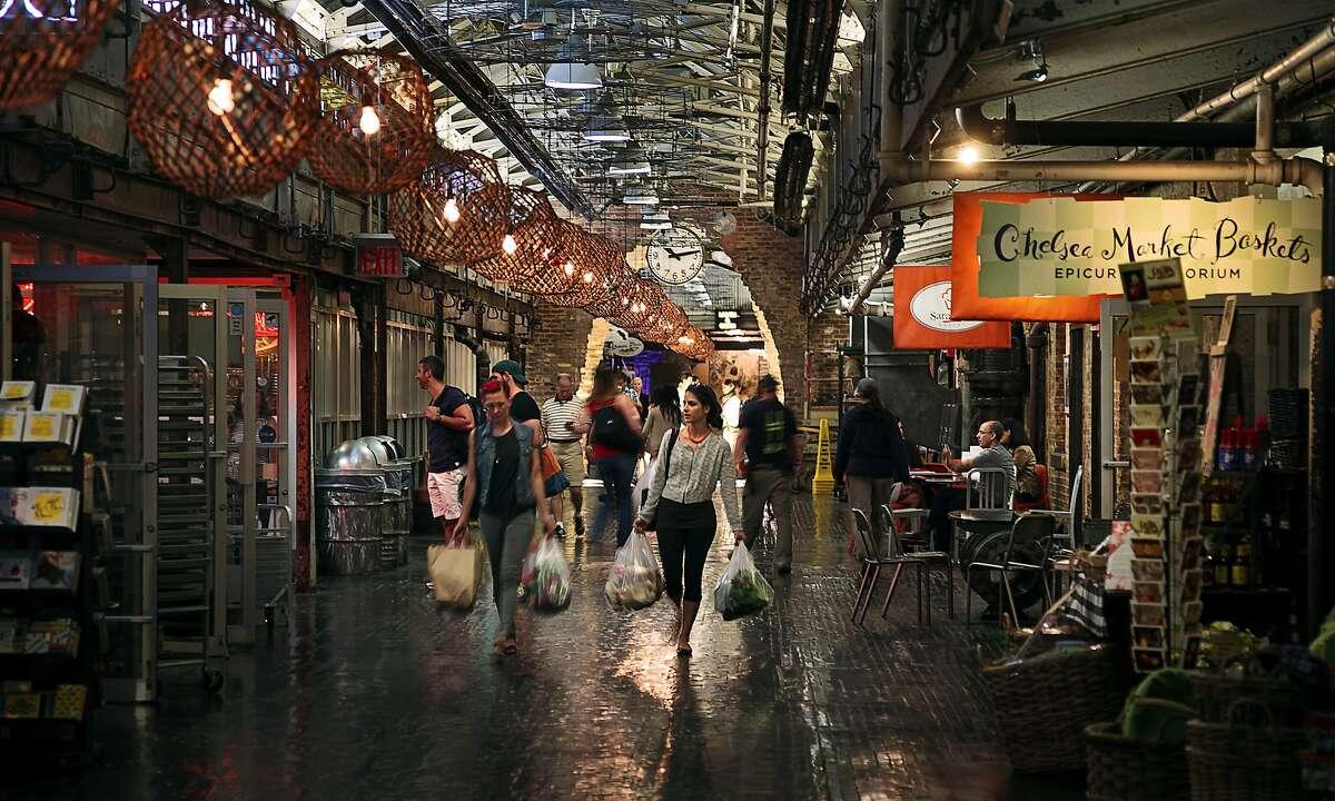 East coast 2013 Chelsea Market shoppers