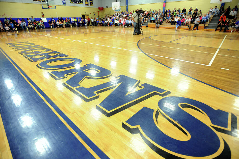 Hamshire-Fannett gymnasium Photo taken Tuesday, March 25, 2014