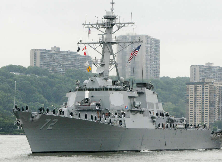 A sailor was fatally shot aboard the USS Mahan at Naval Station Norfolk late Monday, and security forces killed a male civilian suspect. Photo: Ed Bailey / Associated Press / AP