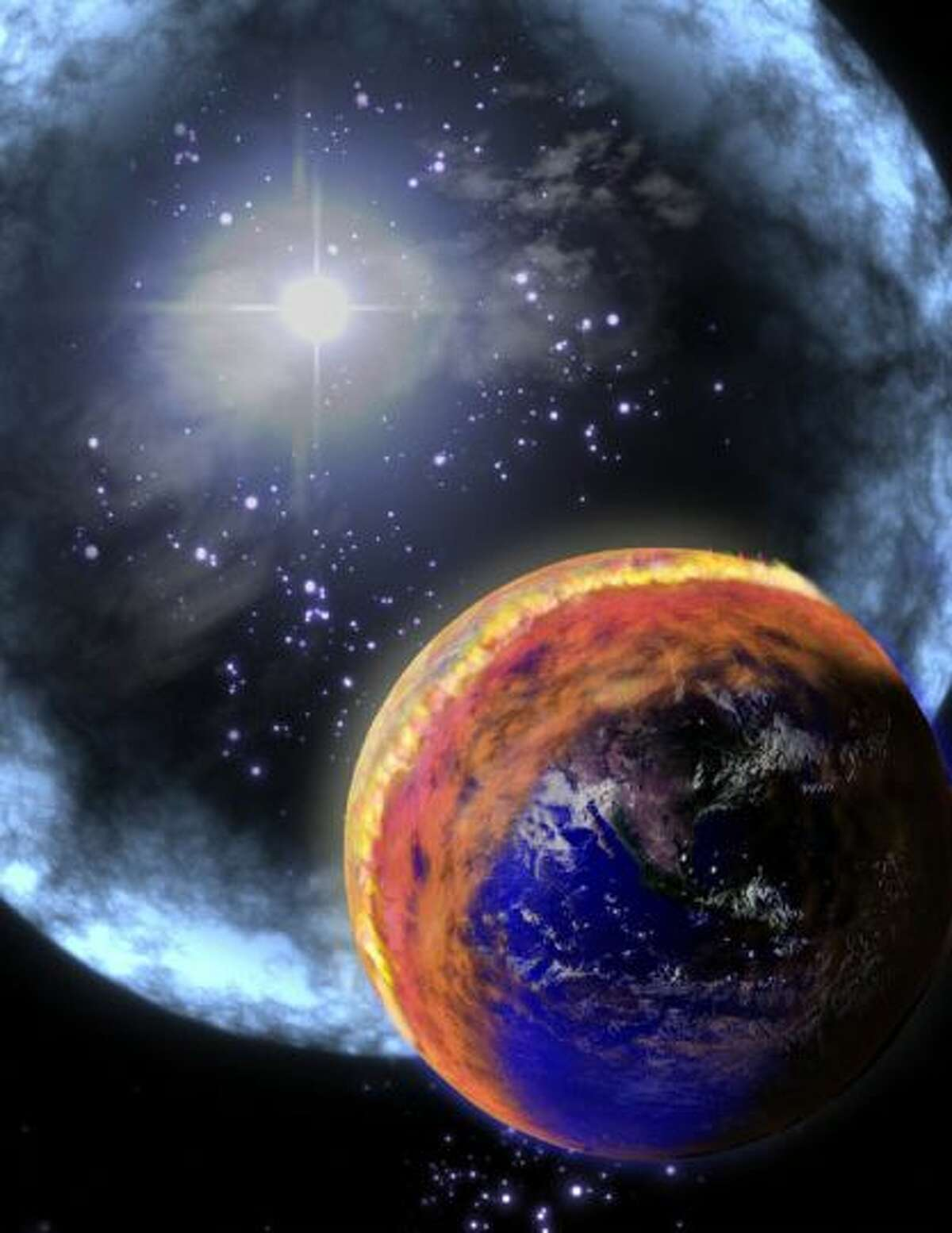The last time we were panicked on a national and even worldwide scale was in 2012. But, the world did not end (right?) - The rogue planet Nibiru did not hit us; a solar flare did not engulf us ... nothing. The 5,125-year cycle in the Mayan Long Count calendar ended in December 2012 ... and, well, we had some fun with it at the time. Not only did the predictions in 2012 fail, but many others have failed as well. We rounded up some other notable end-of-the-world FAILS. They're presented in more or less chronological order starting with the most recent. Also, a H/T to Wikipedia. (Photo: NASA)