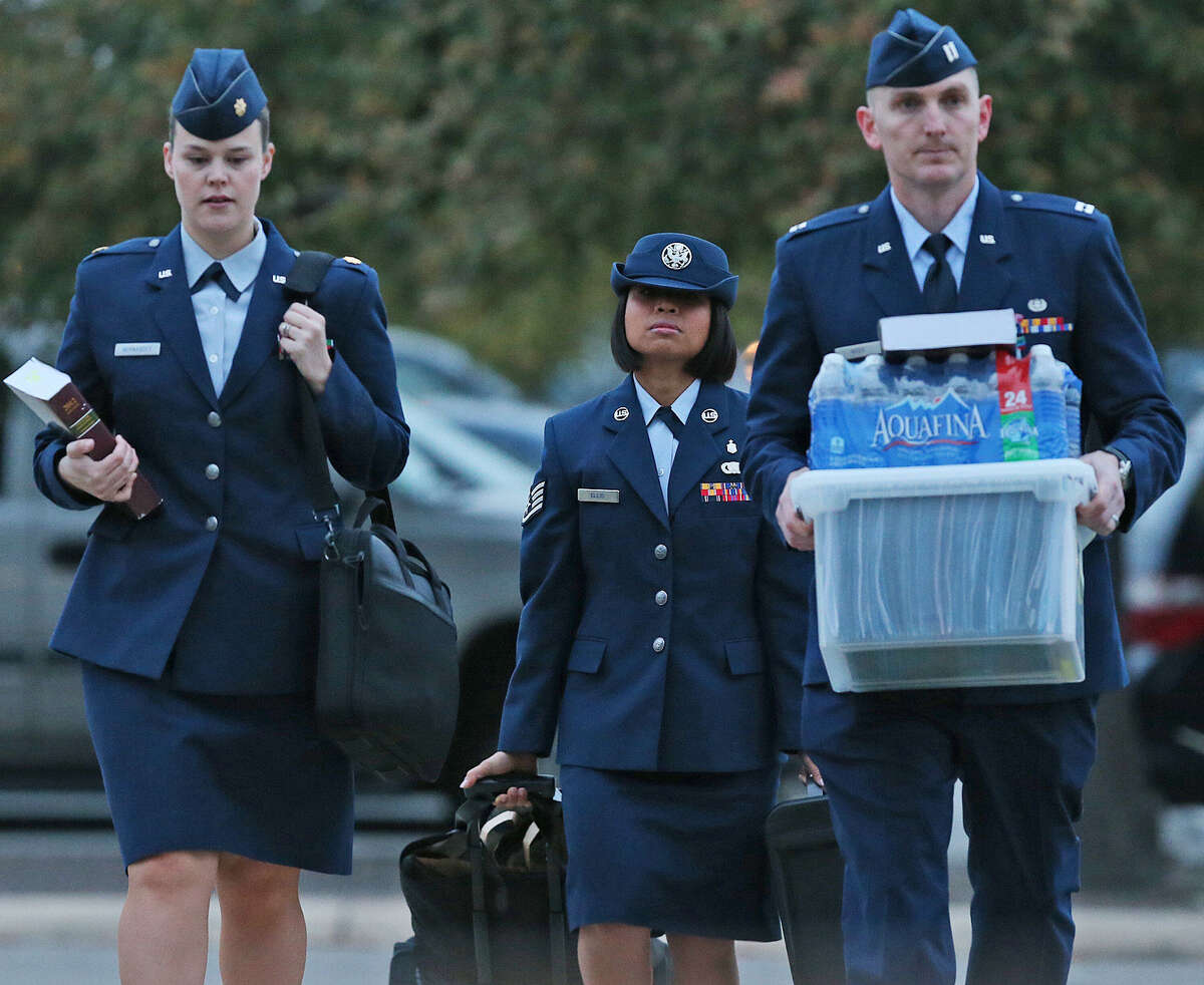 U.S. Air Force Staff Sgt. Annamarie Ellis is eligible to receive a sentence of more than 40 years in prison, but such a long sentence isn't likely.