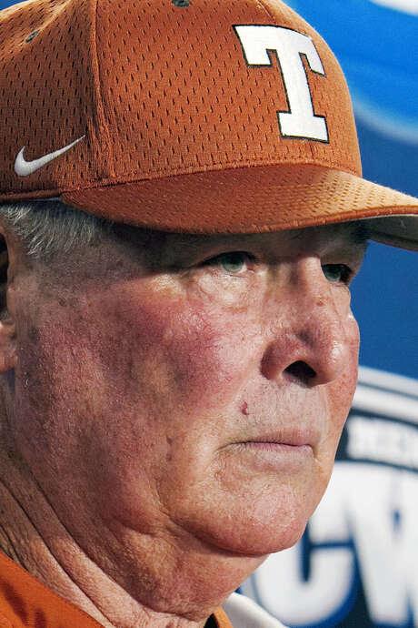 Texas coach Augie Garrido has won 1,894 games. / AP