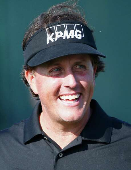 PALM BEACH GARDENS, FL - FEBRUARY 26:  Phil Mickelson smiles during the pro-am round prior to The Honda Classic at PGA National Resort and Spa on February 26, 2014 in Palm Beach Gardens, Florida.  (Photo by Sam Greenwood/Getty Images) Photo: Sam Greenwood, Staff / 2014 Getty Images
