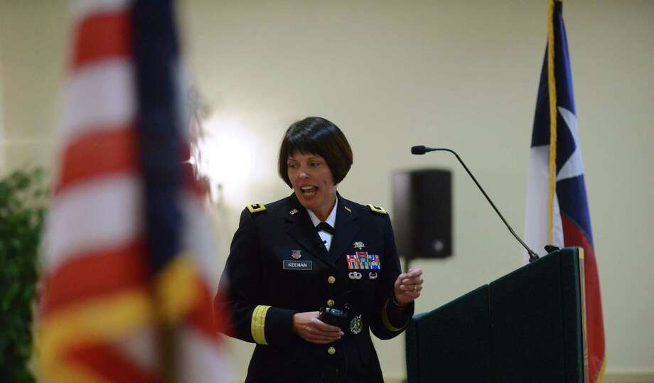 "Maj. Gen. Jimmie Keenan, who became director of the local military health system last fall, said: ""We've had this model here in San Antonio for decades."" Photo: Billy Calzada / San Antonio Express-News / San Antonio Express-News"