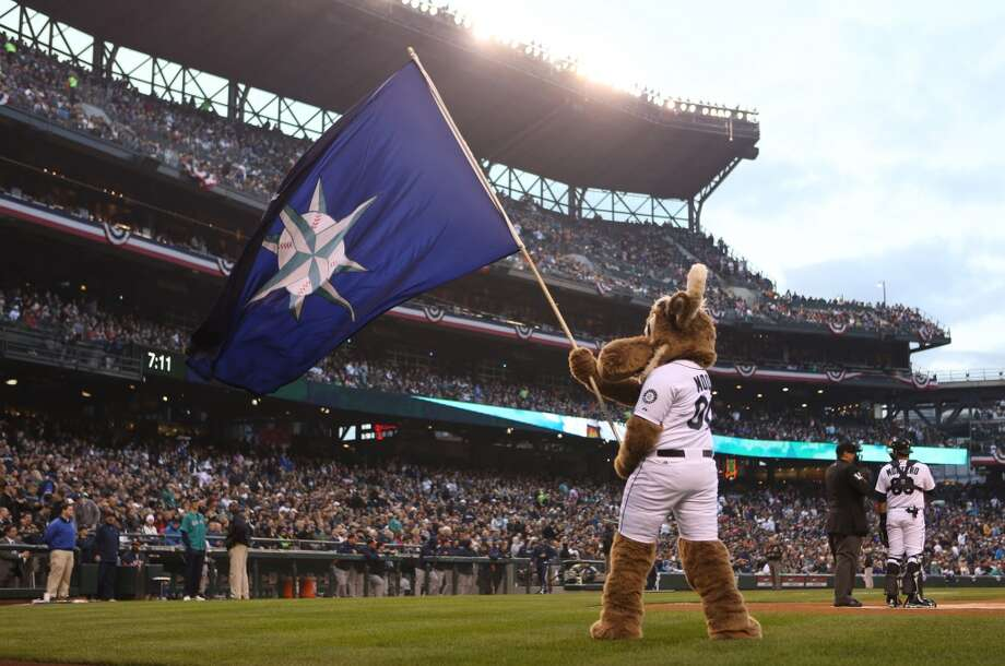 You know you're a Mariners fan if ...you don't think twice about the team's mascot being a moose. Photo: Joshua Trujillo, Seattlepi.com