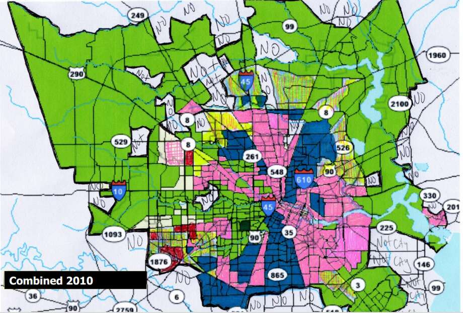 Segregation remains in the Bayou city. One symptom is clearly seen in how racialized our neighborhoods remain.