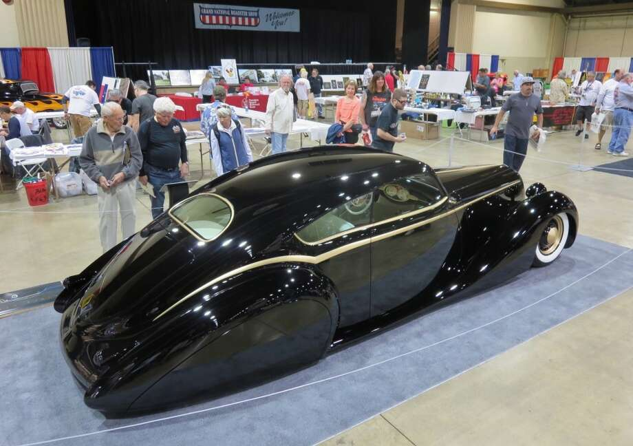 Black Pearl, a car belonging to James Hetfield, a member of Metallica. One of several cars that will be at the Goodguys show this weekend.  Photo credit: John Drummond.