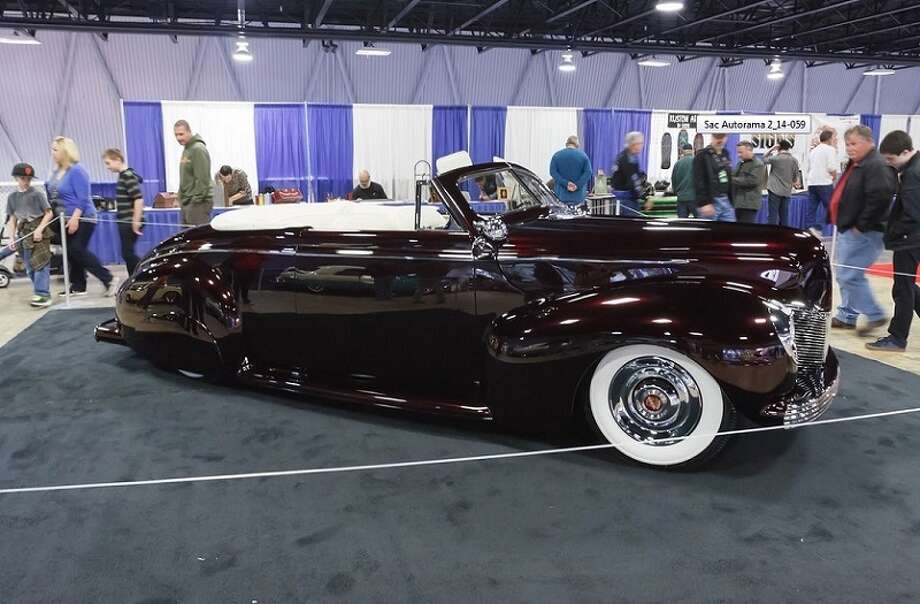 Another car in the show: a 1940 Mercury. Owner: Joe Phipps.  Photo credit: Michael Corrazzelli