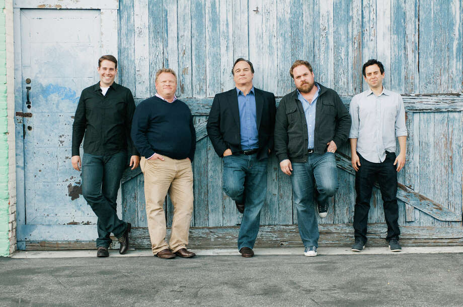 Jim Belushi, center, will bring his comedy show âÄúJim Belushi and the Chicago Board of ComedyâÄù to the Ridgefield Playhouse on April 3. Photo: Contributed Photo / Connecticut Post Contributed