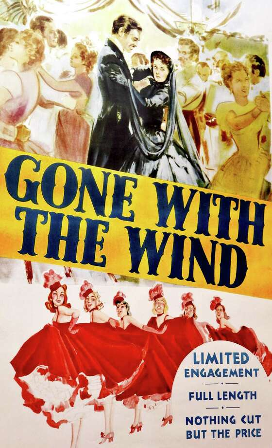 "A poster for ""Gone with the Wind."" Getty Images Photo: Astrid Stawiarz, ST / 2009 Getty Images"