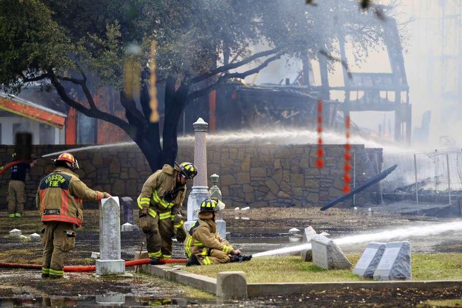 Magnolia Cemetery in Houston (Photo by Johnny Hanson/Houston Chronicle)