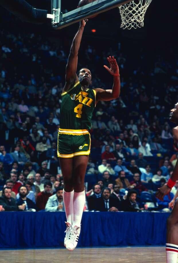 Utah Jazz  Longest losing streak: 18 games  From Feb. 24, 1982 to March 29, 1982 Photo: Focus On Sport, Via Getty Images