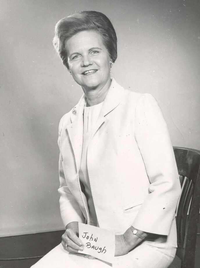 24:Eula Mae and John Baugh FoundationTotal given in 2012: $7.2 millionPictured: Eula Mae, who was married to John Baugh, is shown in 1967. Photo: JOE MORTELLRA, HOUSTON CHRONICLE