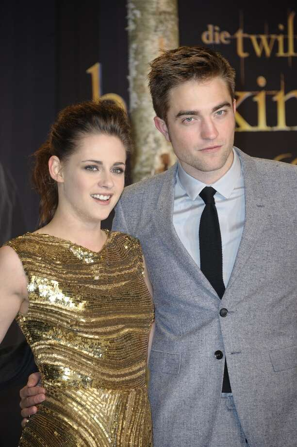 "Kristen Stewart and Robert Pattinson's ""on-again-off-again"" antics are enough to earn them a place on this list, add to that their ""Twilight"" tween street cred and we have strong contenders for the title. Photo: Luca Teuchmann, WireImage"