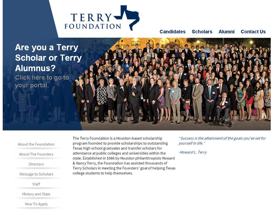 16. Terry FoundationTotal given in 2012: $10.4 million Photo: Terry Foundation