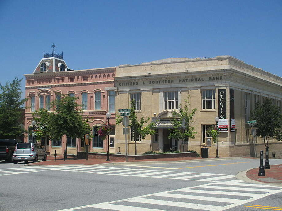 4. Spartanburg, S.C. The study also used results about the financial security of residents to calculate rankings. Photo: Wiki Commons