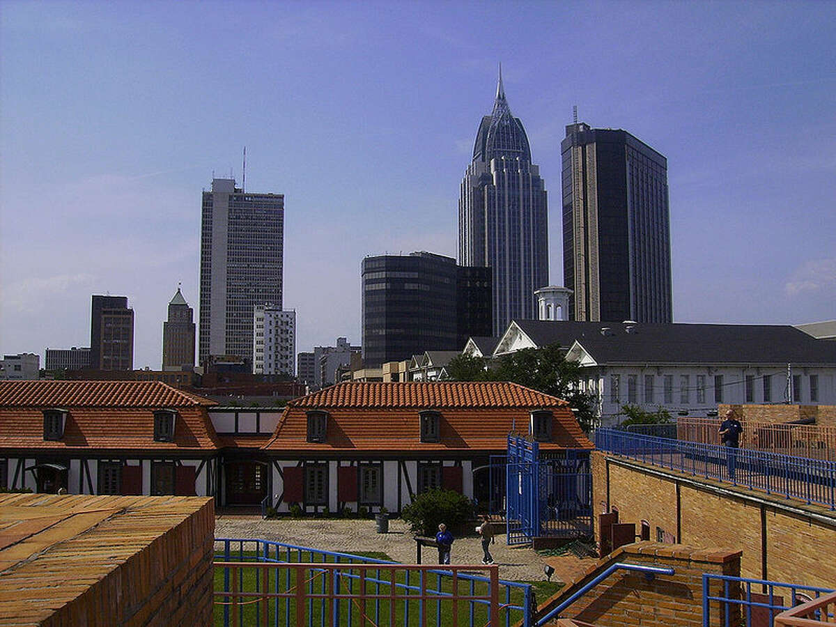 9. Mobile, Ala., the 9th worst city for well-being.