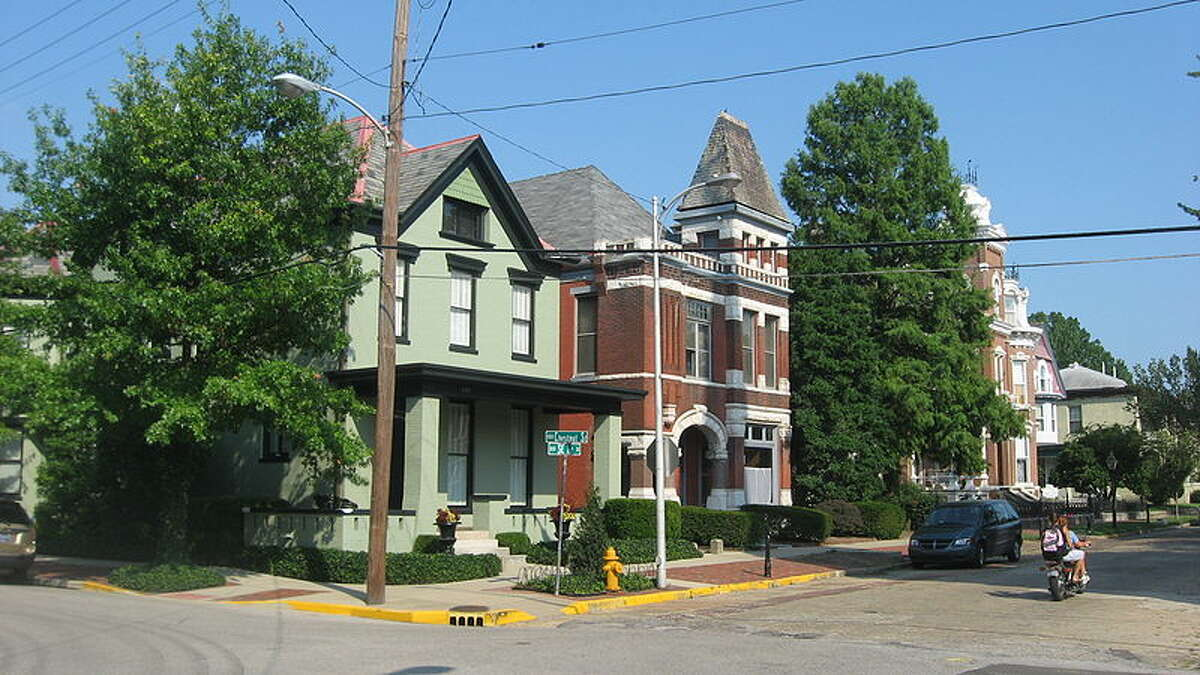 10. Despite this cute street, Evansville, Ind., is the 10th worst city for well-being.