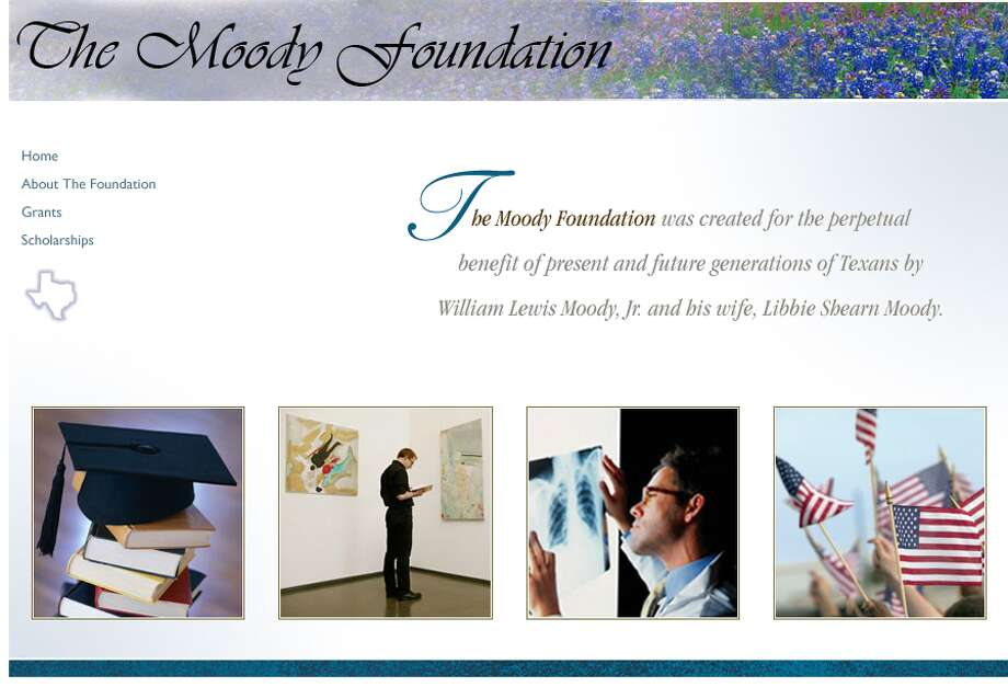 4. Moody FoundationTotal given in 2012: $50 million
