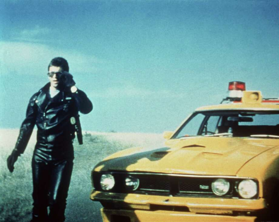 "Australian Mel Gibson was 23 years old when he starred in ""Mad Max."" / handout slide"